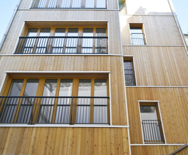 Hempcrete social housing
