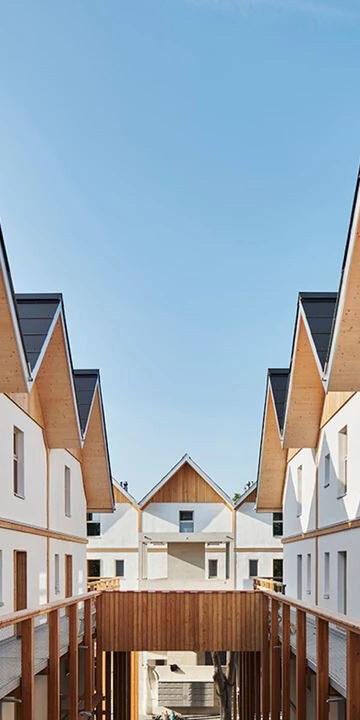 Modern straw bale house development Werner Schmidt