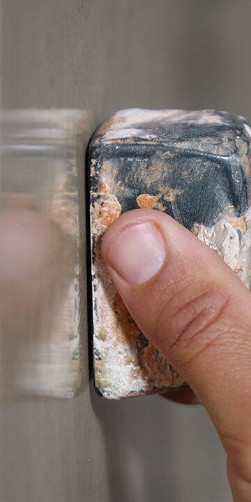 Tadelakt polishing stone Eestimaaehitus