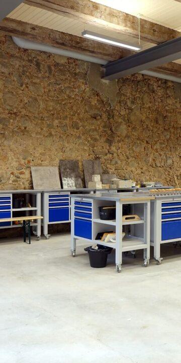 Product development workshop room ecological building Eestimaaehitus