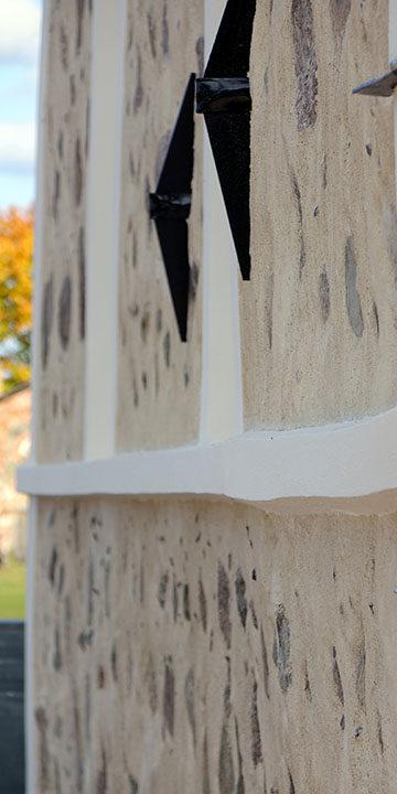 Facade renovation lime plaster Eestimaaehitus